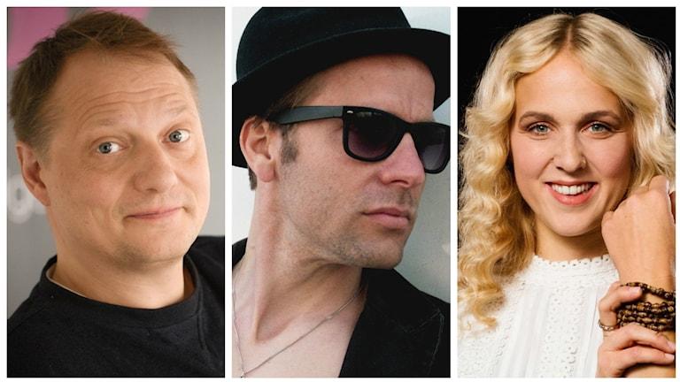 Magnus Carlson, Love Olzon och Noomi Thorstensson är veckans utmanare.