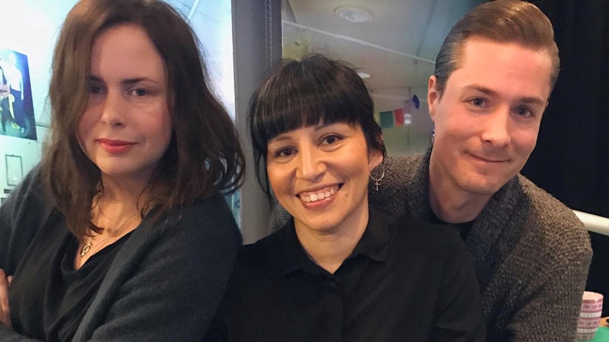 Hanna, Rossana Dinamarca och David