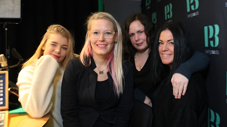 Kristina, Anna Dreber Almenberg, Hanna och Martina.