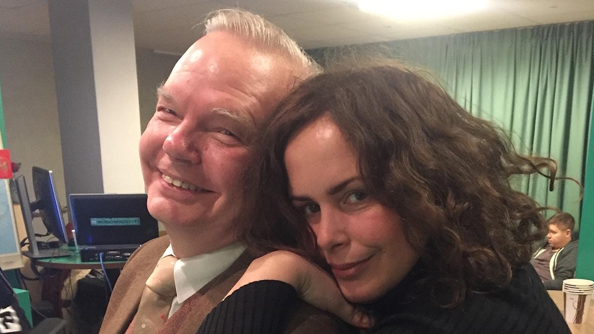 Carl Jan Granqvist & Hanna i studion!