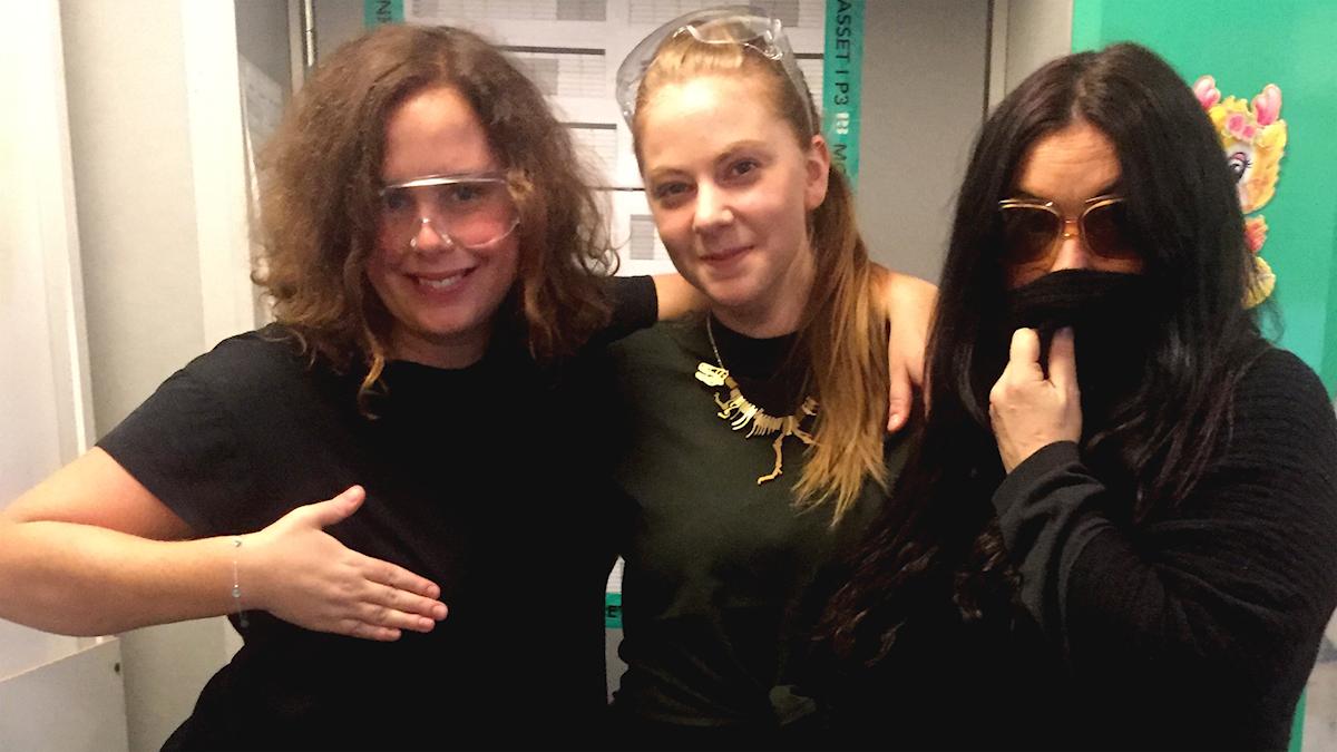 Hanna, Simone Giertz och Martina hänger i studion!