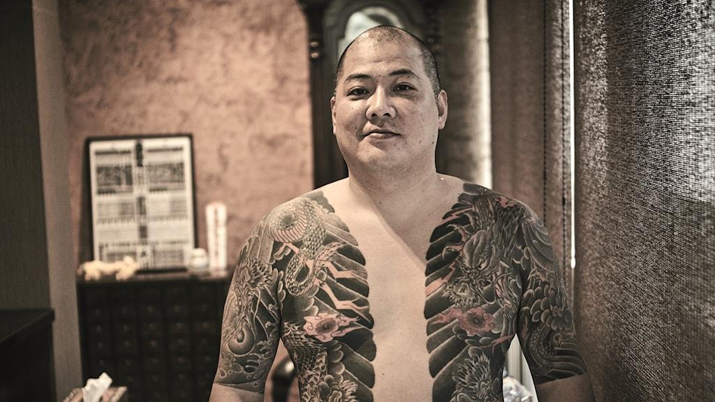 Yakuza tatueringar