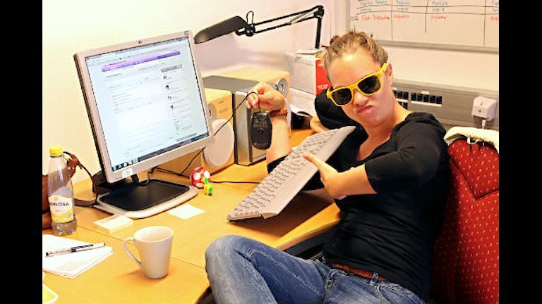 Webb-Ingrid stekte på internetz.