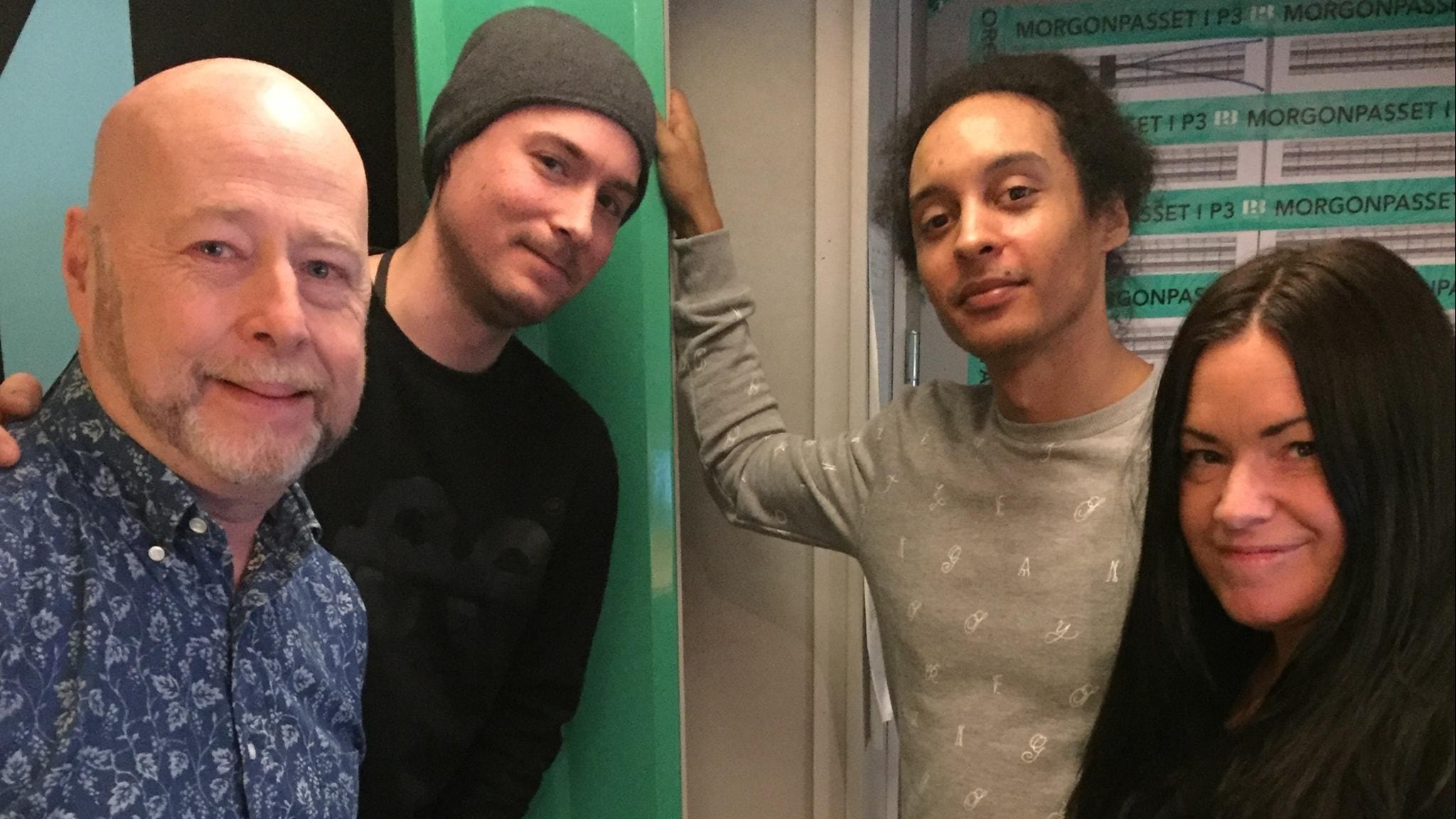 Gunnar Kratz besöker David, Victor och Martina denna morgon!