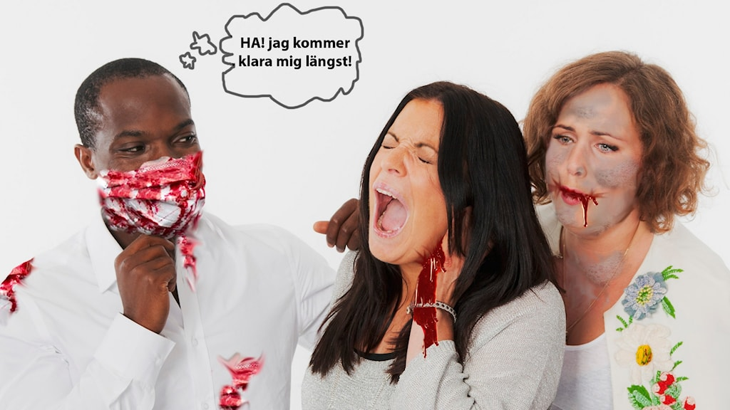 Zombiepasset i P3 Foto: Isabel Eriksson/Sveriges Radio