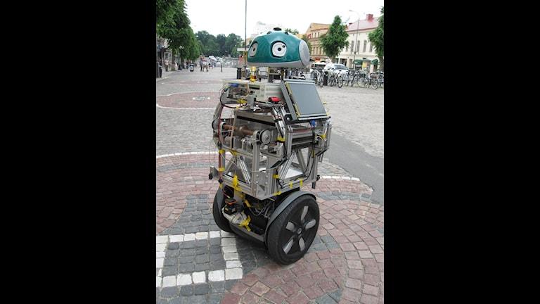 På femte plats: små robotar Foto: Matilda Mattisson