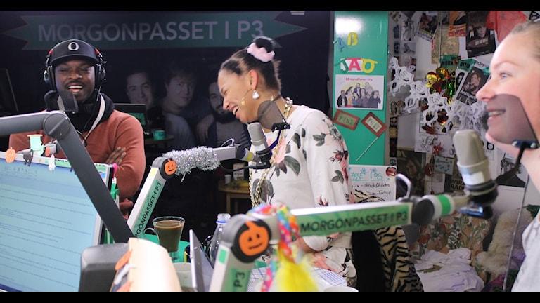 The joy when Joy is in the house! (Javet det är de jävla Göteborgarna på redaktionens fel) Foto: Isabel Eriksson/Sveriges Radio