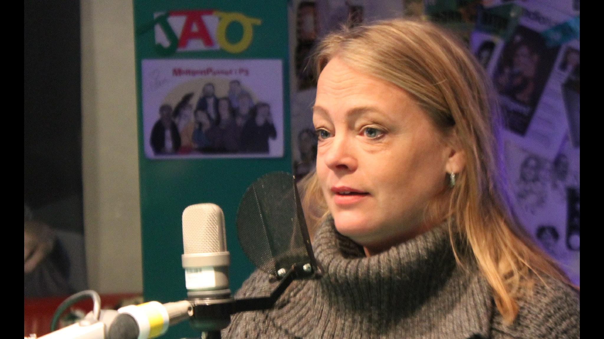 Ylva Hultén berättar om Sveriges första dokusåpa Foto: Sveriges Radio