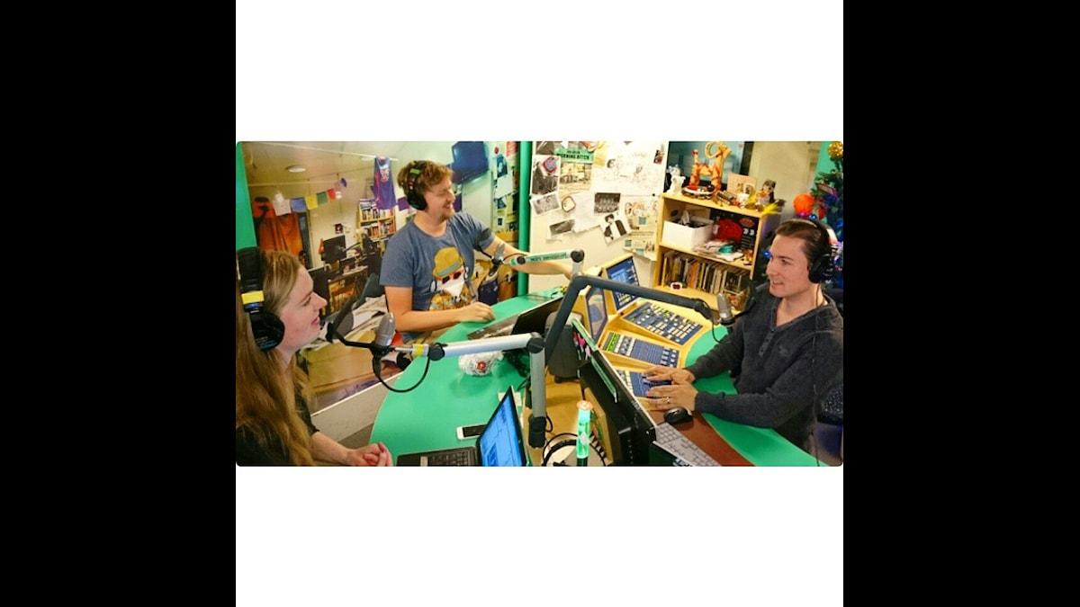 Den nya trion! Foto: Isabel Eriksson/Sveriges Radio