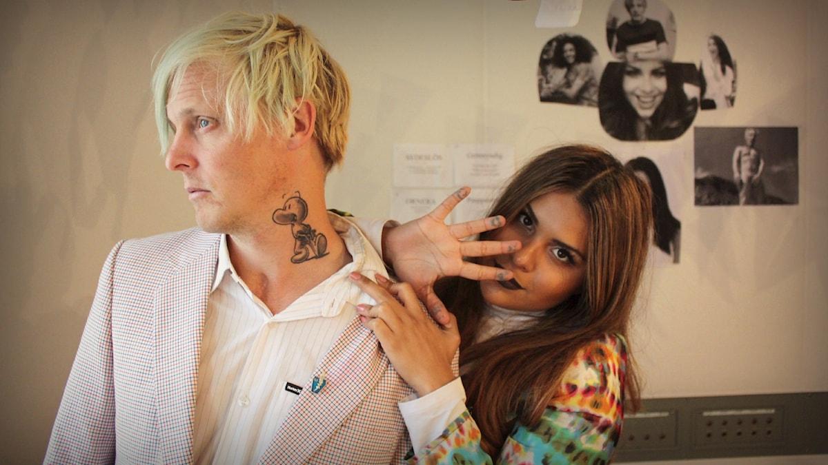 Simon och Arantxas tatueringar Bild: Emma Leyman