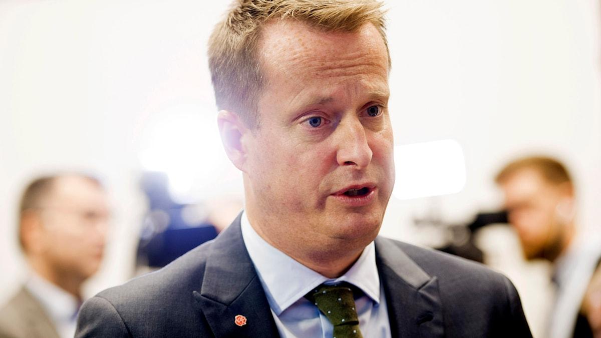 Inrikesminister Anders Ygeman