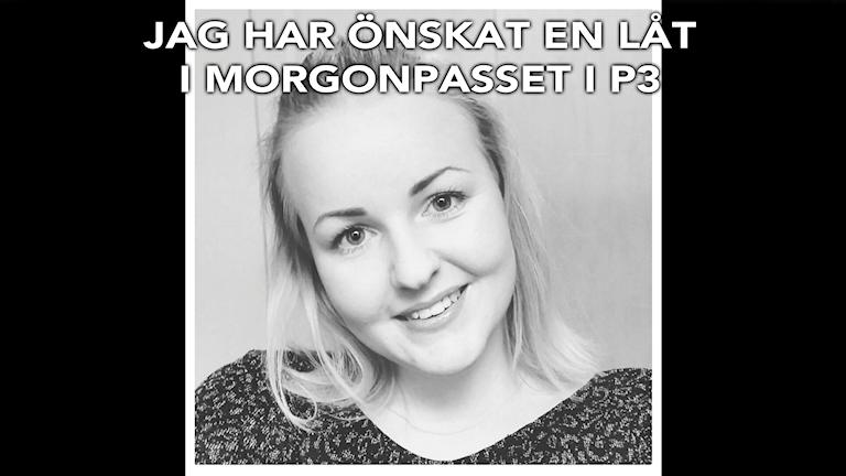 Låtönskaren Maja. Foto: Privat