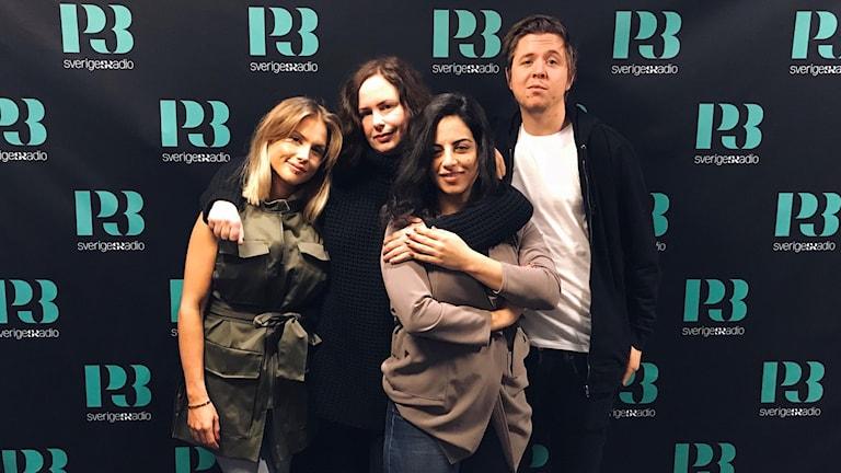 Maja Nilsson, Hanna, Maria och Kalle