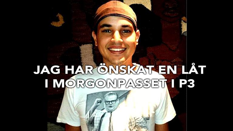 Låtönskaren Carl-Mikael. Foto: Privat