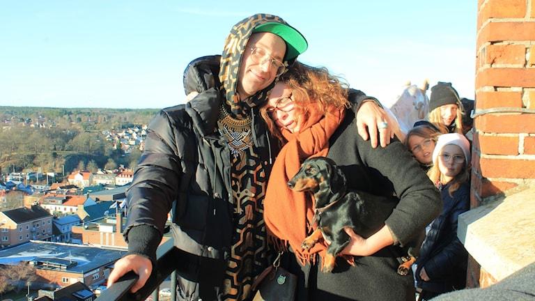 Frej Larsson, Hanna & lilla Ines myser uppe i tornet