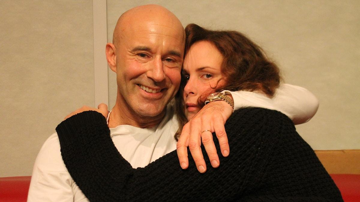 Mark Levengood och Hanna.
