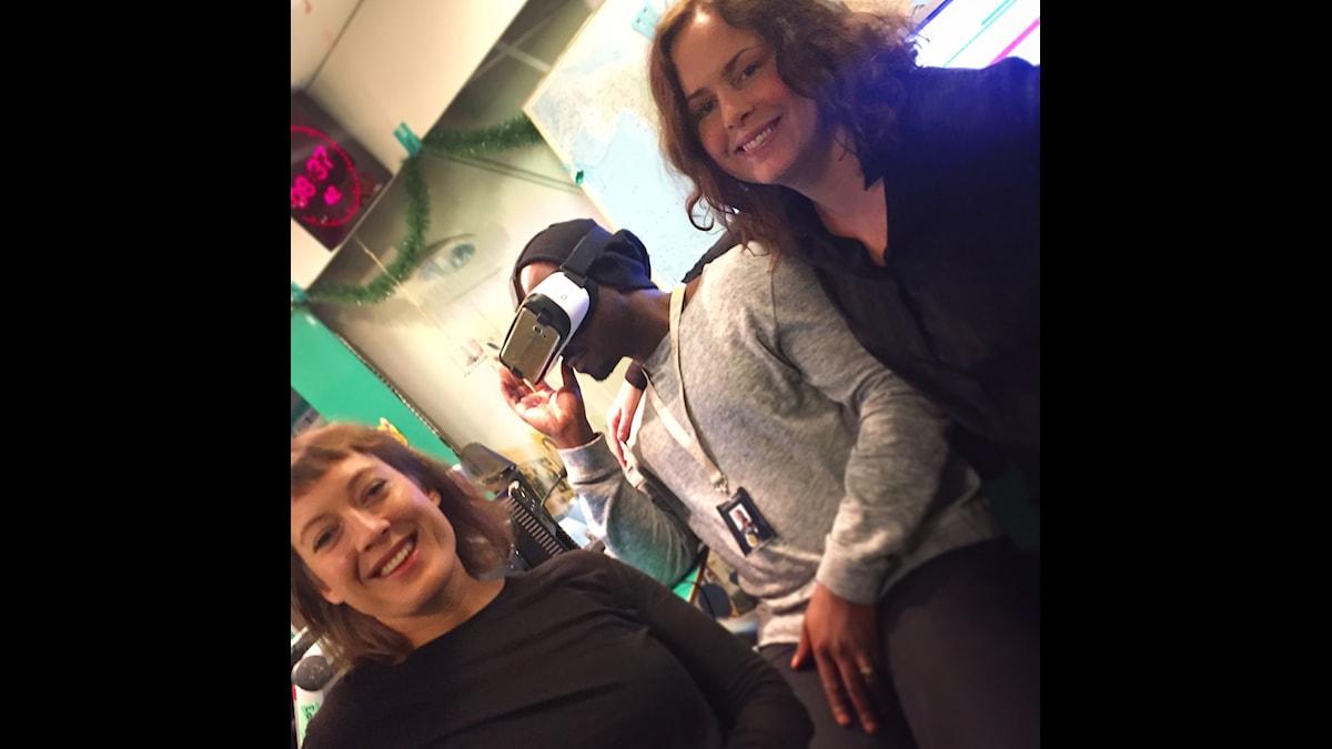 Mimi Billing, Kodjo och Hanna