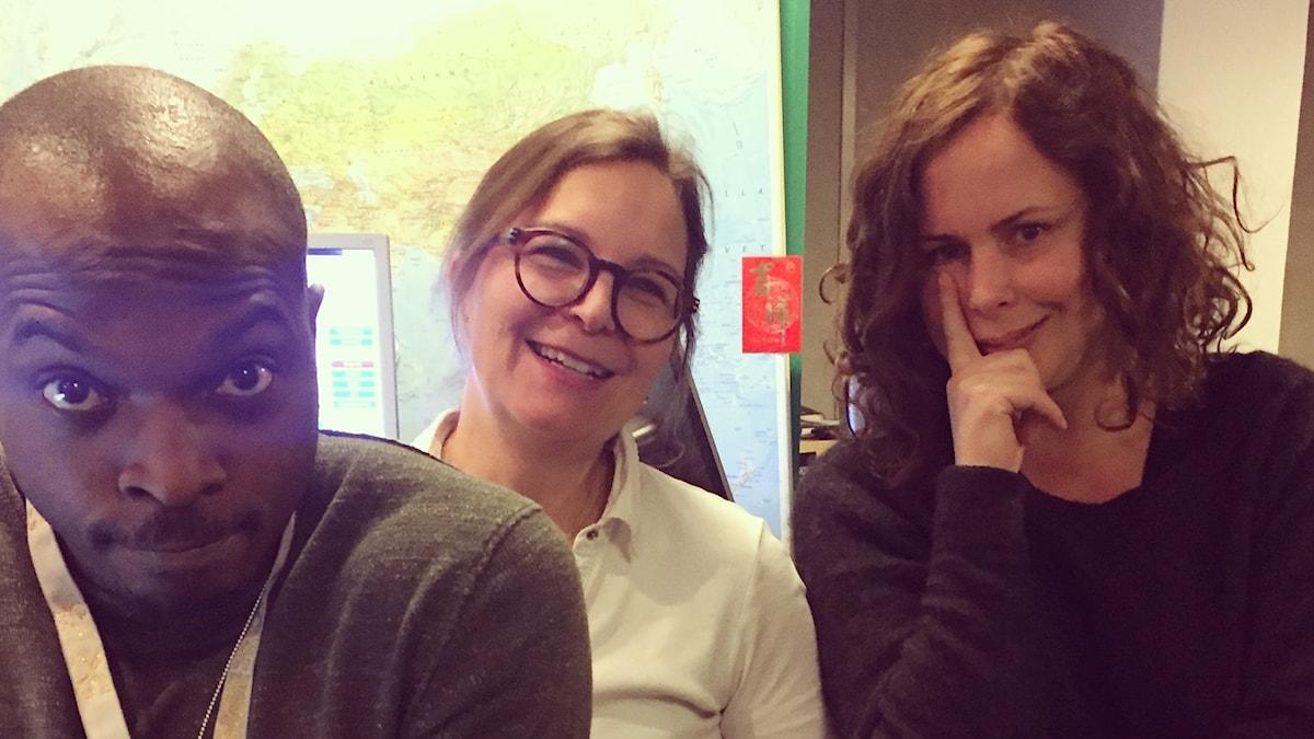 Kodjo, Kersti Grunditz Brennan och Hanna