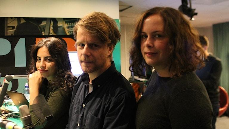 Maria, Staffan och Hanna.