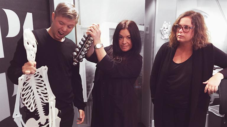 Researcher-Kalle, Martina och Hanna är...The Fellowship of AWESOMENESS!!!