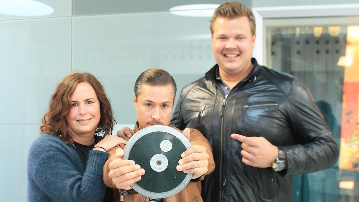 Hanna, David och Daniel Ståhl