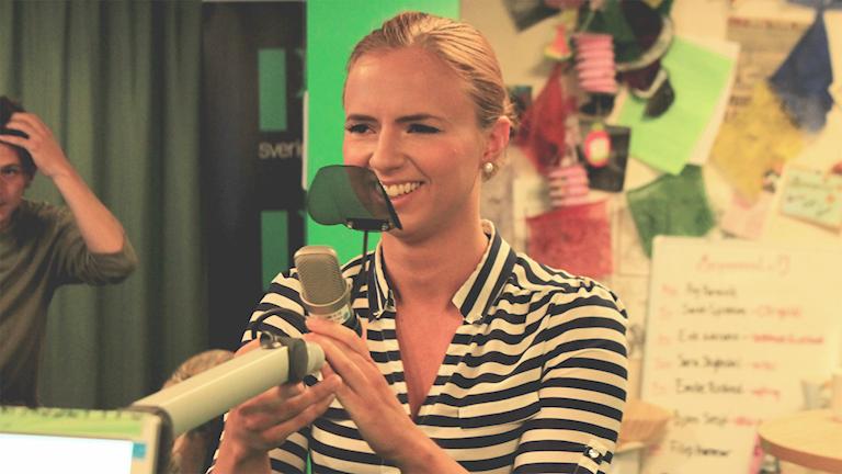 Sara Skyttedal i studion!
