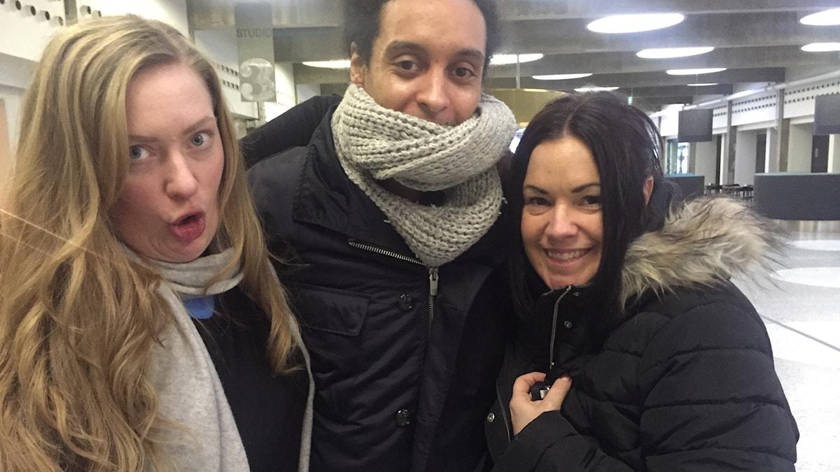 Sara, Victor och Martina