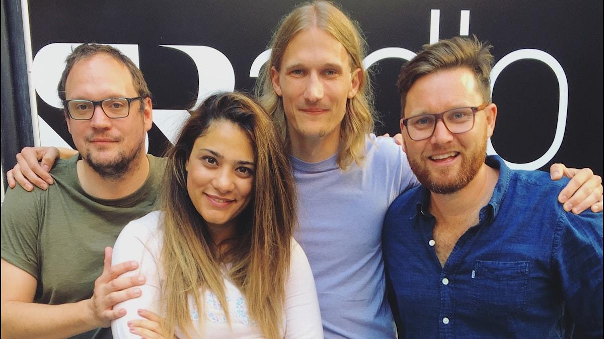 Jonatan, Farah, Marcus & Ola Selmen!