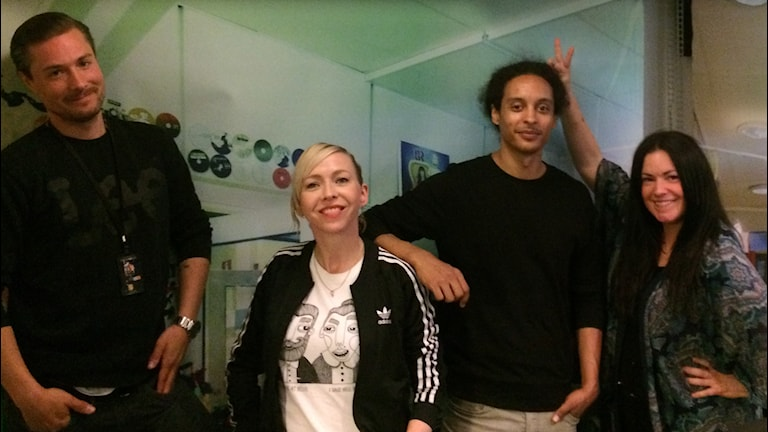 David, Jenny Jägerfeld, Victor och Martina leder denna bandade Nationaldag!