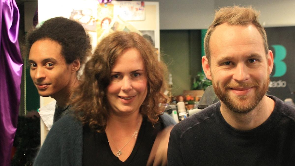Victor, Hanna och Björn Frantzén.