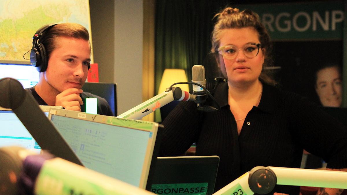 David och Kakan i studion