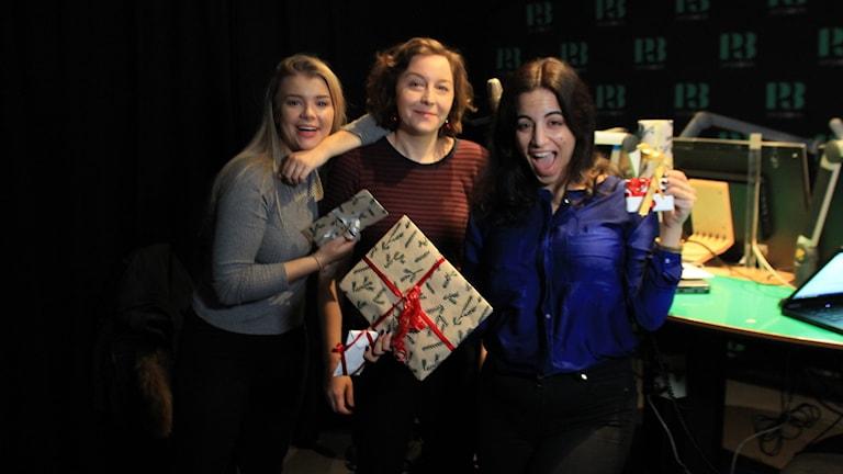 Kristina, Emmy Rasper och Maria