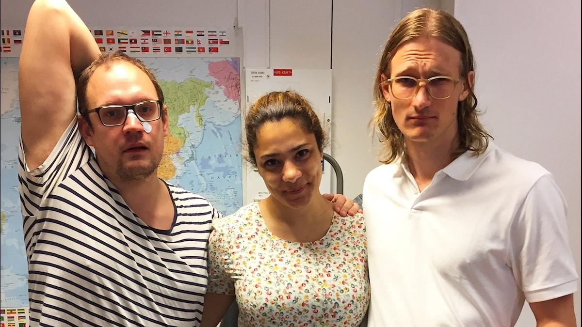 Jonatan, Farah & Marcus