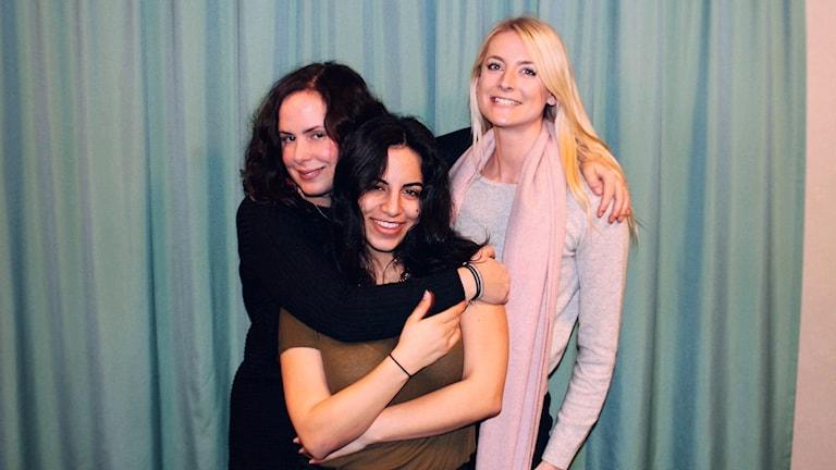 Hanna, Maria och Malin Söderlund