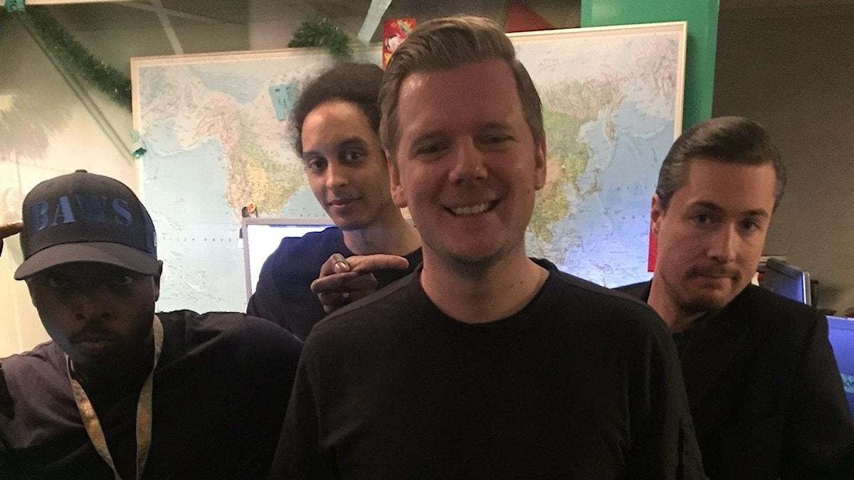 Kodjo, Victor, Andreas Johansson och David!