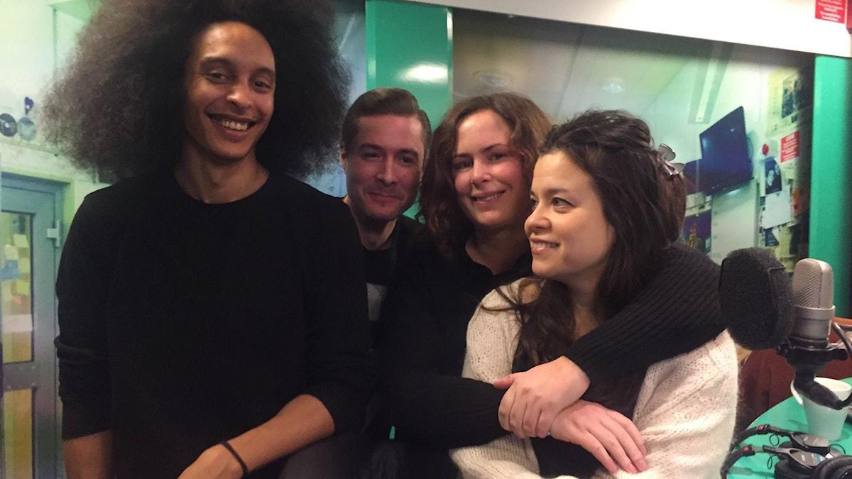 Victor, David, Hanna och Caroline Ringskog Ferrada Noli