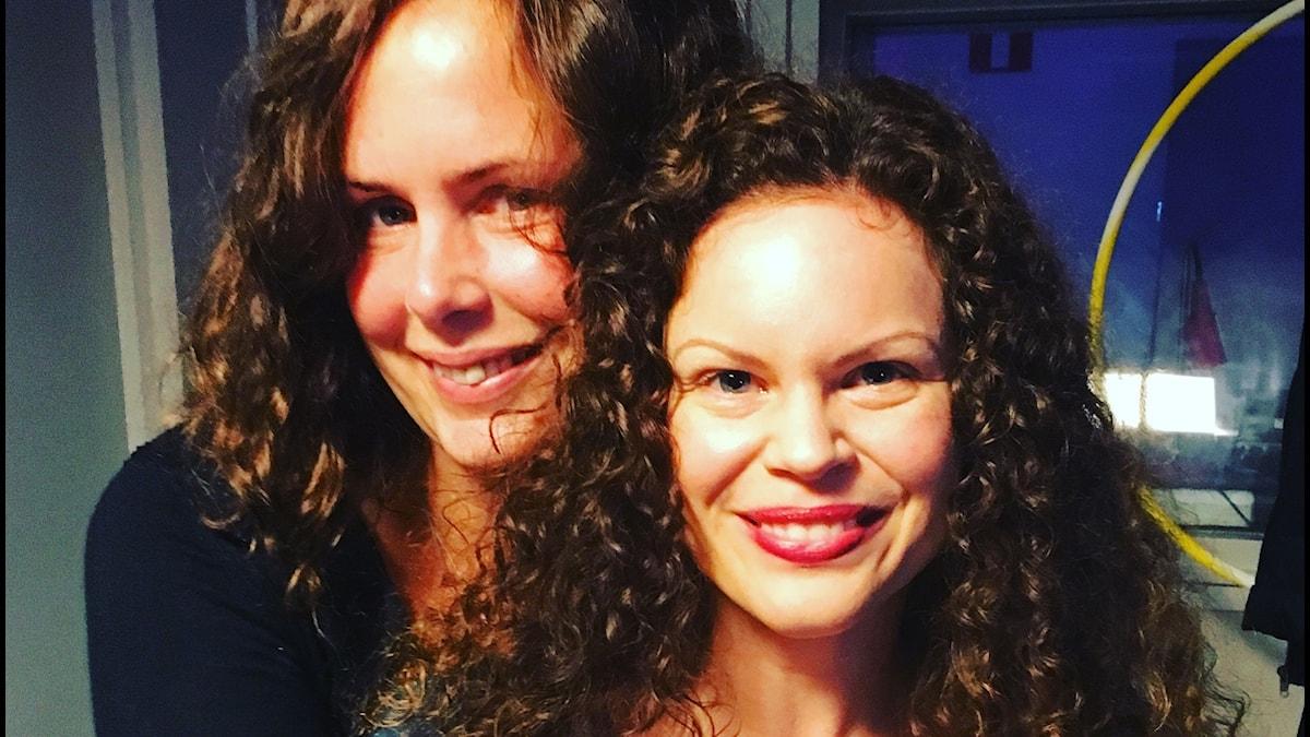 Hanna och experten Natalie Lantz