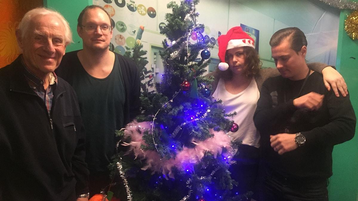 Christer Hedin, Jonatan, Hanna och David