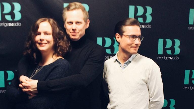 Hanna, Andreas Utterström och David