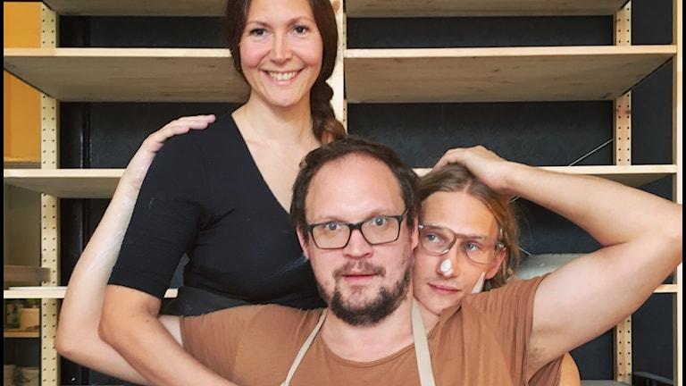 Keramikern Stella, Jonatan & Marcus