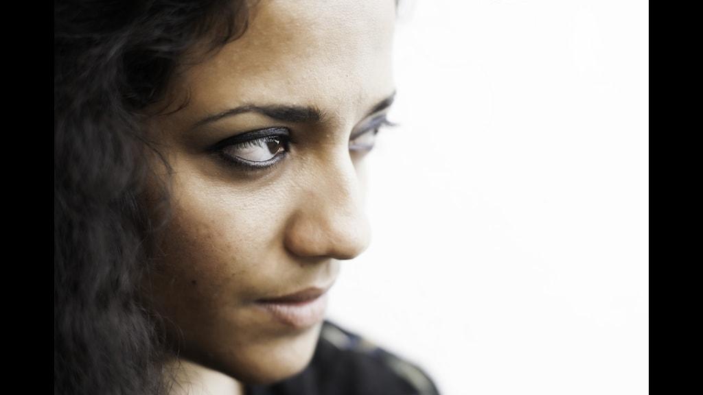 Athena Farrokhzad. Foto Khashayar Naderehvandi