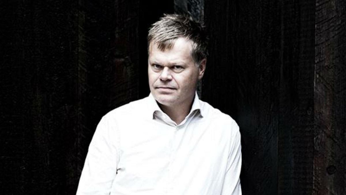 Månadens diktare: Fredrik Nyberg. Foto: Khashayar Naderehvandi
