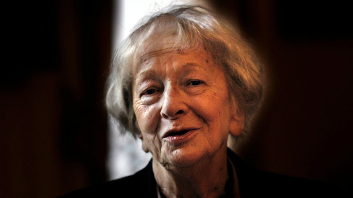 Wislawa Szymborska  Foto Jurek Holzer
