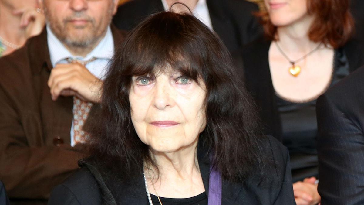 Den österikiska poeten Friederike Mayröcker