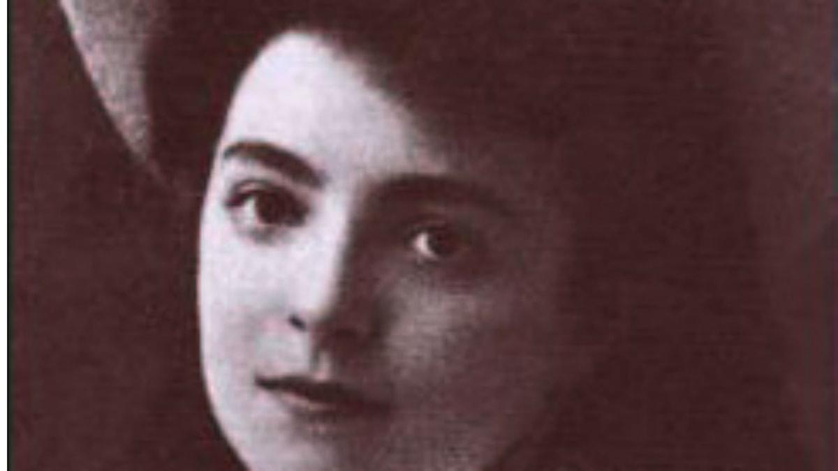 Nelly Sachs som ung 1910