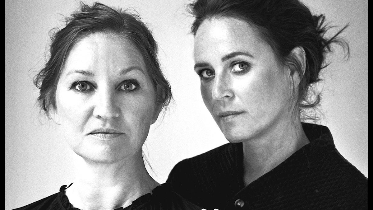 Naja Marie Aidt och Mette Moestrup