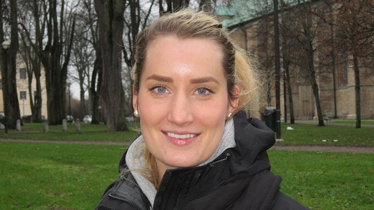 Kristina Vikdahl i LHC. Foto: Rosmari Karlsson/Sveriges Radio