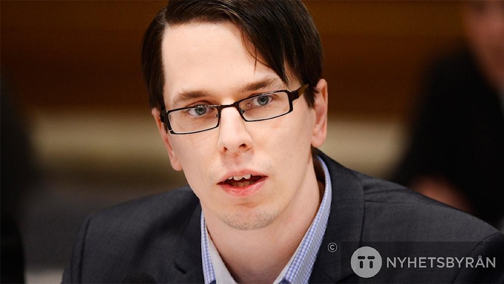 Johnny Skalin says other anti-EU movements will gain strength. Photo: Henrik Montgomery/TT