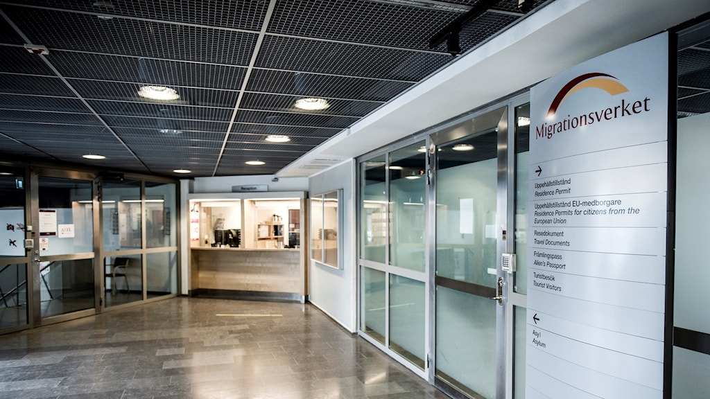 Corridor at the Migration Agency.
