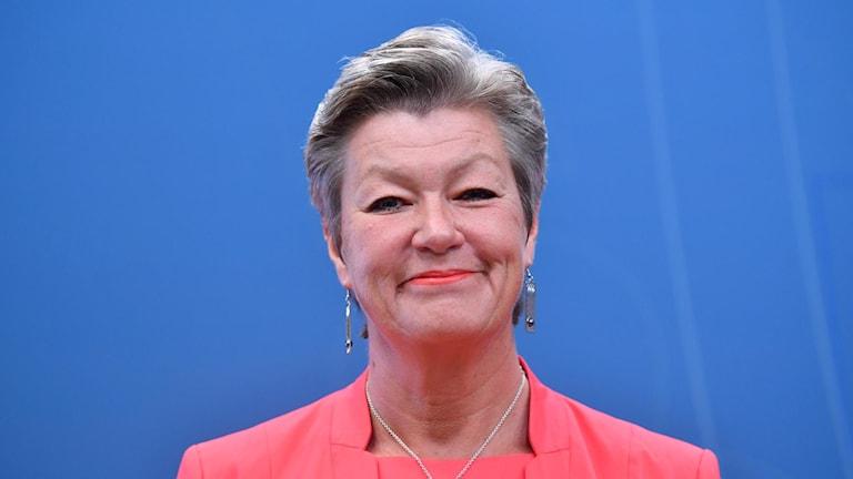 Employment minister Ylva Johansson
